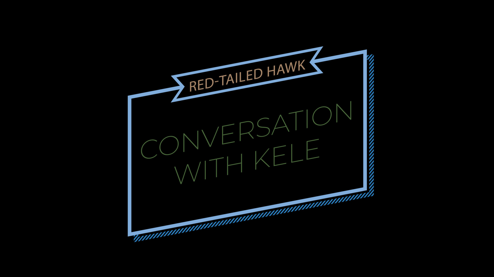 Conversation with Kele - Red-tailed Hawk-Thumbail-1080